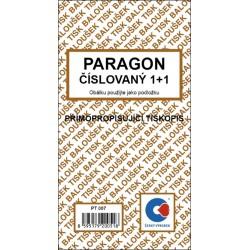 Paragon - číslovaný - propisující