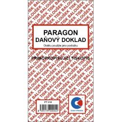 Paragon - daňový doklad - propisující