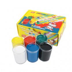 Temperové barvy Easy v kelímku 20ml - 6 barev