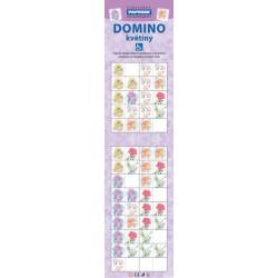 Domino PAPRSEK® - květiny