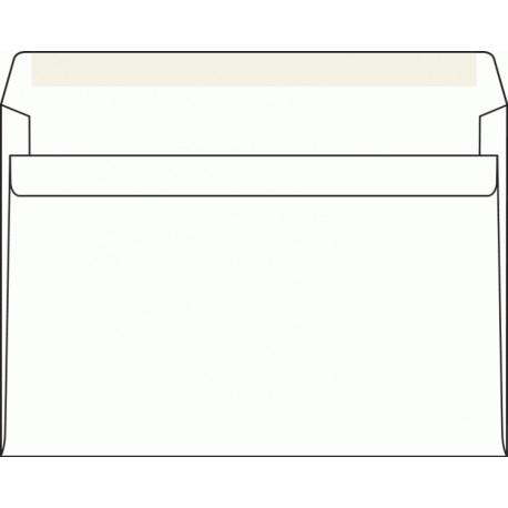 Obálka C5, bílá, samolepící, 80g/m2, 162x229 mm