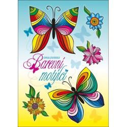 Omalovánka A5 - Barevní motýlci