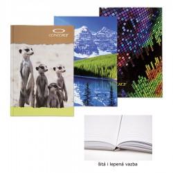 Záznamní kniha CONCORDE A6 linka, 96 listů