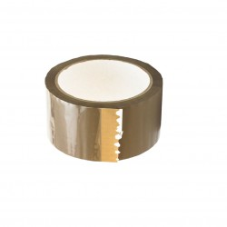 Balící páska PP akryl 48 mm x 66 m, hnědá