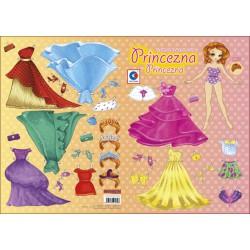 Vystřihovánka A3 Princezna