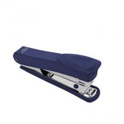 Sešívačka Easy kovová,12 listů, spony no.10 - modrá