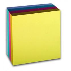 Samolepicí bloček CONCORDE, pastel, 76x76mm, 400 listů