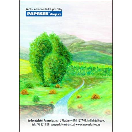 Balení 100 ks objednacích kartiček PAPRSEK® s obrázkem, 3,50 Kč/ks