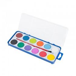 Vodové barvy Easy - sada 12barev