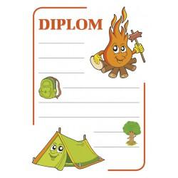Diplom A4 Táborový