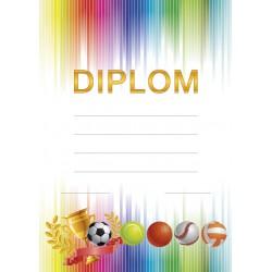 Diplom A5 Míče