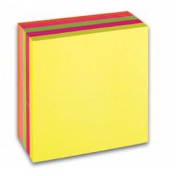 Samolepicí bloček CONCORDE, neon, 76x76mm, 400 listů