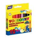 Voskové pastely MFP trojhranné - 12 barev/sada