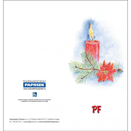 PF PAPRSEK® MIX, otevírací DL bez textu včetně obálek - sada 10ks
