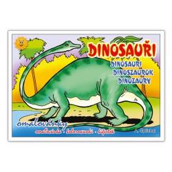 Omalovánky MFP Dinosauři