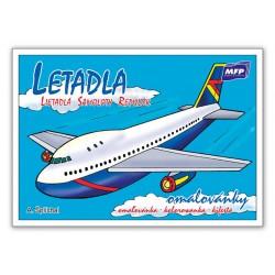 Omalovánky MFP Letadla