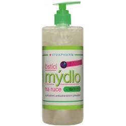 Antibakteriální čistící mýdlo na ruce, 500 ml,  VIVAPHARM