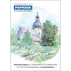 Objednací kartička PAPRSEK® s obrázkem, mix motivů - SK