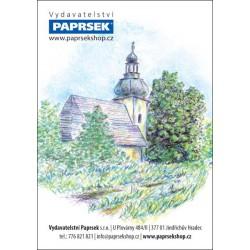 Balení 500 ks objednacích kartiček PAPRSEK® s obrázkem, mix motivů,  0,13 €/ks - SK