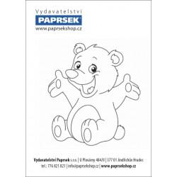 Balení 500 ks objednacích kartiček PAPRSEK® k vymalování ZVÍŘÁTKA, 0,13 €/ks - SK