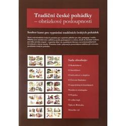 Komunikační obrázkové karty 10 nejznámějších českých pohádek