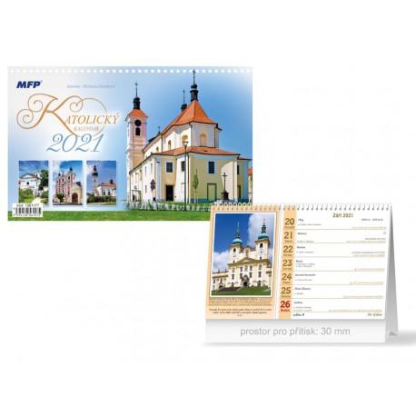 Kalendář 2021 stolní - KATOLICKÝ