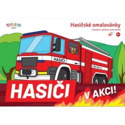 Omalovánky Hasiči v akci, A5