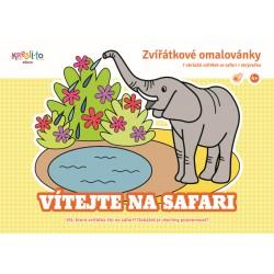 Omalovánky Vítejte na safari
