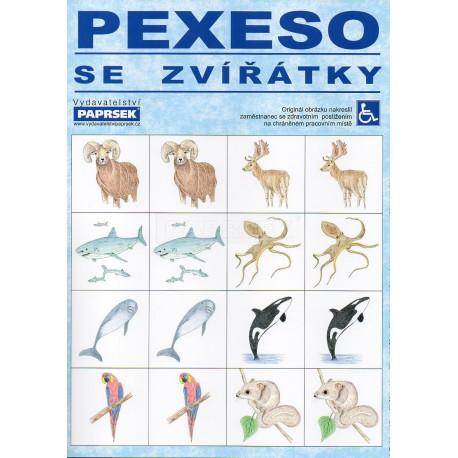 Pexeso se zvířátky PAPRSEK®