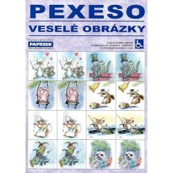 Pexeso veselé obrázky PAPRSEK®