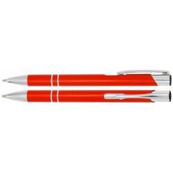Propiska ALBA kovová s vlastním logem (laser) - oranžová C-05