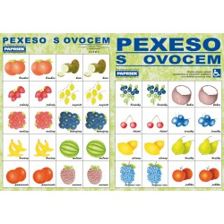 PEXESO s ovocem - PAPRSEK®