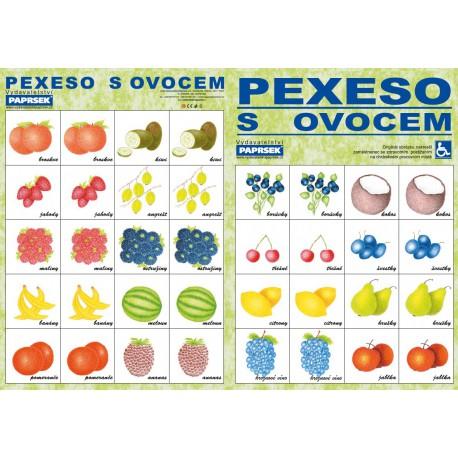 Pexeso s ovocem PAPRSEK®