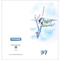PF PAPRSEK® - otevírací DL bez textu včetně obálky - kód: 051