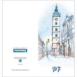 PF PAPRSEK® - otevírací DL bez textu včetně obálky - kód: 050