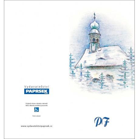 PF PAPRSEK® - otevírací DL bez textu včetně obálky - kód: 047