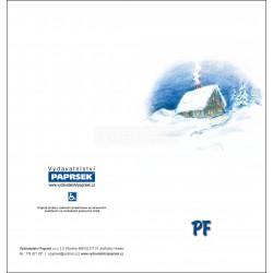 PF PAPRSEK® - otevírací DL bez textu včetně obálky - kód: 063