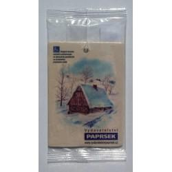 Aromatická visačka PAPRSEK® - chaloupka
