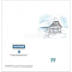 PF PAPRSEK® - otevírací DL bez textu včetně obálky - kód: 065