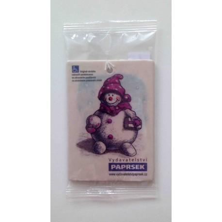 Aromatická visačka PAPRSEK® - sněhulák