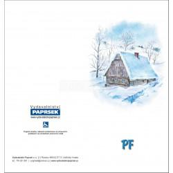 PF PAPRSEK® - otevírací DL bez textu včetně obálky - kód: 059