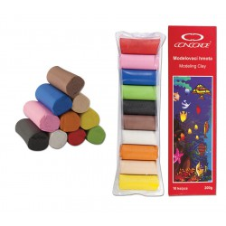 Modelína CONCORDE, 10 barev/sada 200g