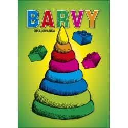 Omalovánka A5 - Barvy