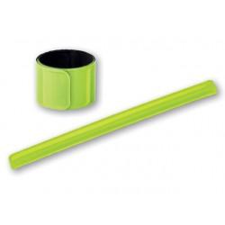 Reflexní pásek 30 x 3 cm, žlutozelený