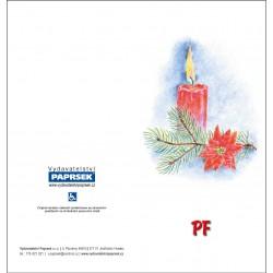 PF PAPRSEK® - otevírací DL bez textu včetně obálky - kód: 055