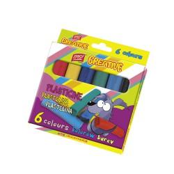 Modelína EasyCreative 6 barev/sada, 96g