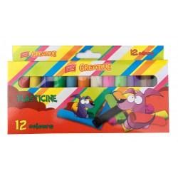 Modelína EasyCreative 12 barev/sada, 192g